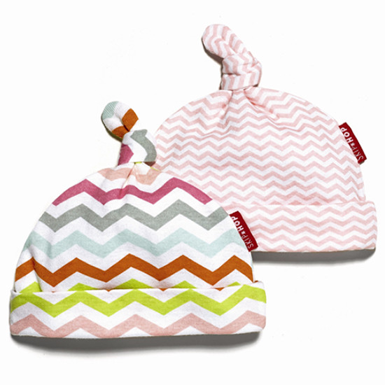 Skip Hop 2 Piece Baby Hat Set - Pink