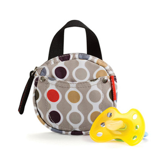 Skip Hop Pacifier Pocket - protected by Agion - Wave Dot