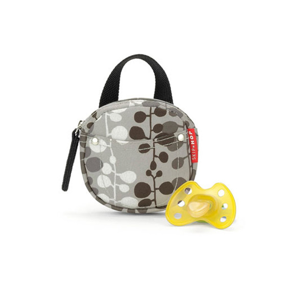 Skip Hop Pacifier Pocket - protected by Agion - Willow
