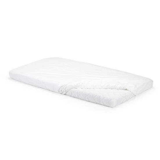STOKKE Home Crib Fitted Sheet 2 Piece - White