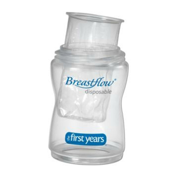 The First Years Breastflow Disposable Bottle 4oz. 1pk