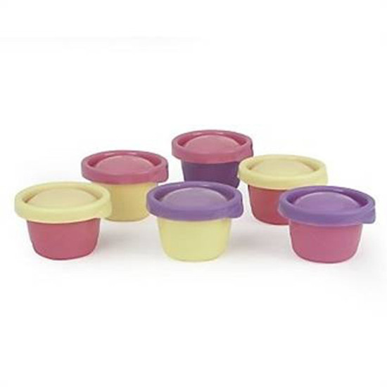 The First Years Ziploc Snack Cups & Lids