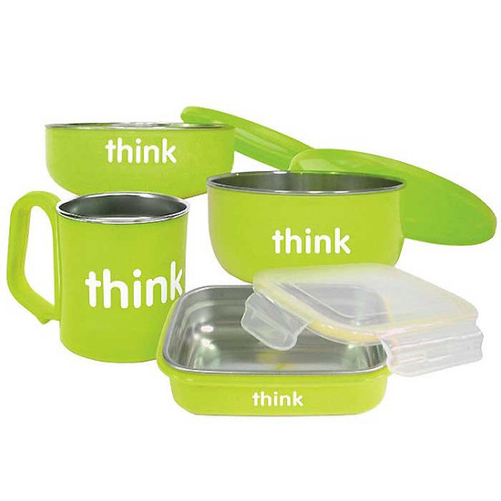 ThinkBaby The Complete BPA Free Feeding Set - Light Green Product