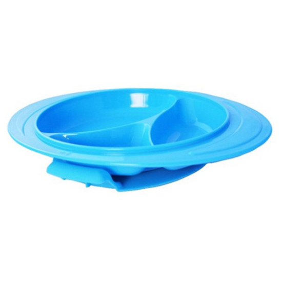 ThinkBaby ThinkSaucer Suction Plate - Light Blue