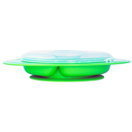 ThinkBaby ThinkSaucer Suction Plate - Light Green Product