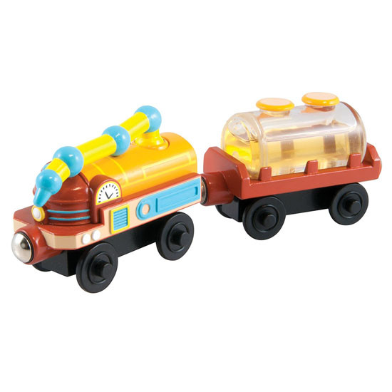 Tomy International Chuggington Wooden Railway Fuel Cars Product