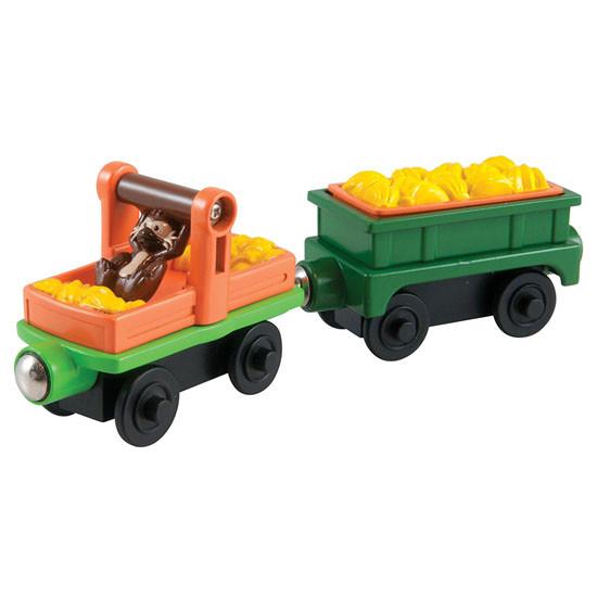 Tomy International Chuggington Wooden Railway Monkey Cars Product