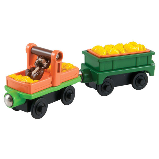 Tomy International Chuggington Wooden Railway Monkey Cars