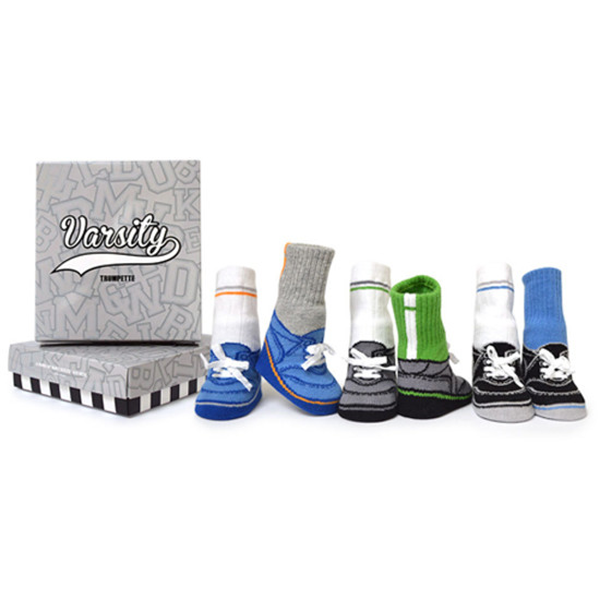 Trumpette Varsity Socks - 6 Pack - 0-12 Months Product