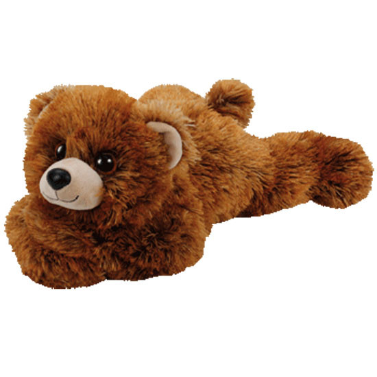 ty Classic Plush Brown Bear 13in - Montana