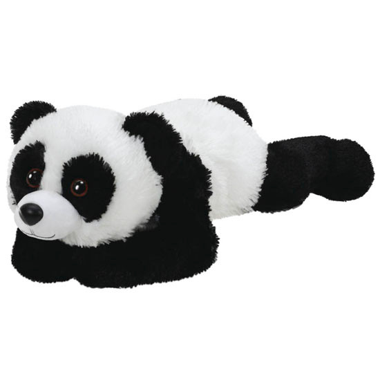 ty Classic Plush Panda 13in - Paige Product