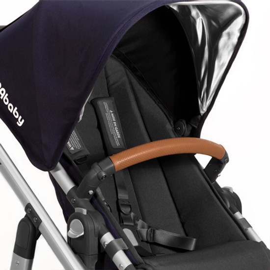 UPPAbaby Leather Bumper Bar Cover - Saddle - 2015-Later