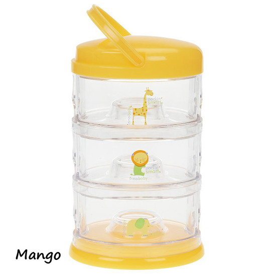 Innobaby Packin' SMART 3 Tier Zoo Animals - Mango-3