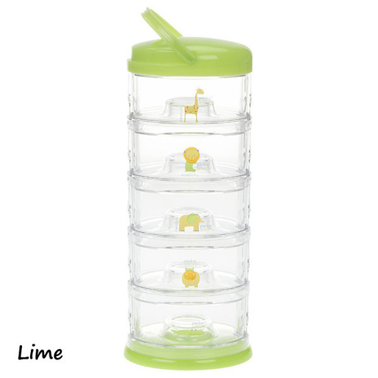 Innobaby Packin' SMART 5 Tier Zoo Animals - Lime-2