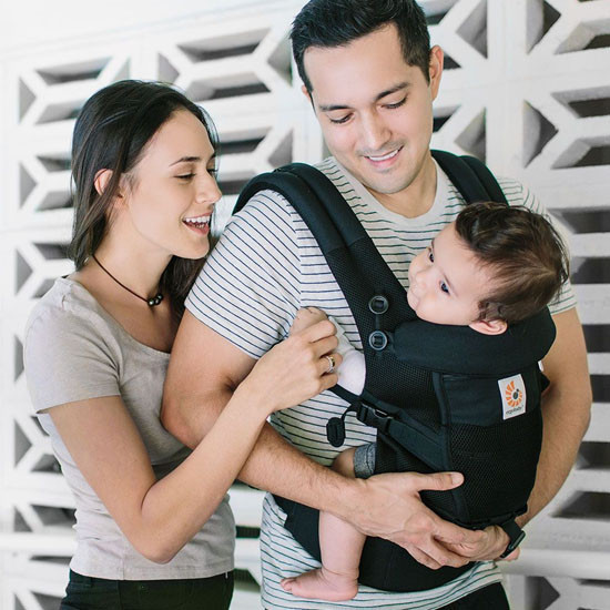 Ergo Baby Adapt Cool Air Mesh Baby Carrier - Onyx Black-3