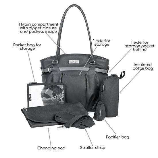 babymoov Glitter Diaper Bag-2