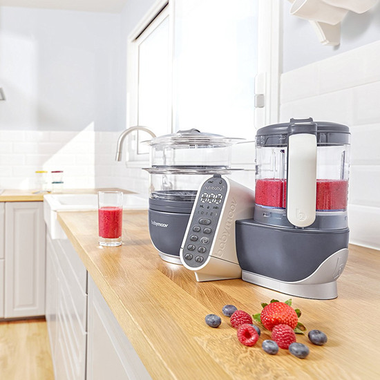 babymoov Duo Meal Station - 5 in 1 Food Maker - Grey-4