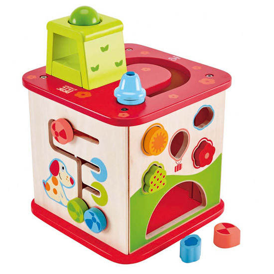 Hape Friendship Activity Cube-2