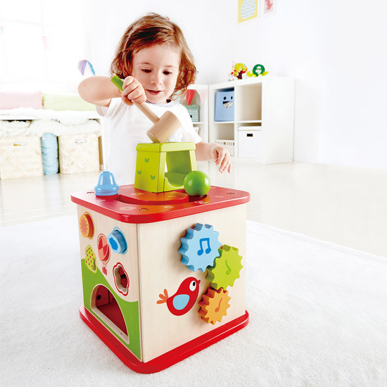 Hape Friendship Activity Cube-5