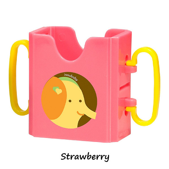 Innobaby Packin' SMART Keepaa Multi Use Drink & Juice Box Holder - Strawberry-3