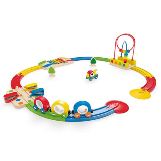 Hape Sight & Sounds Railway Set