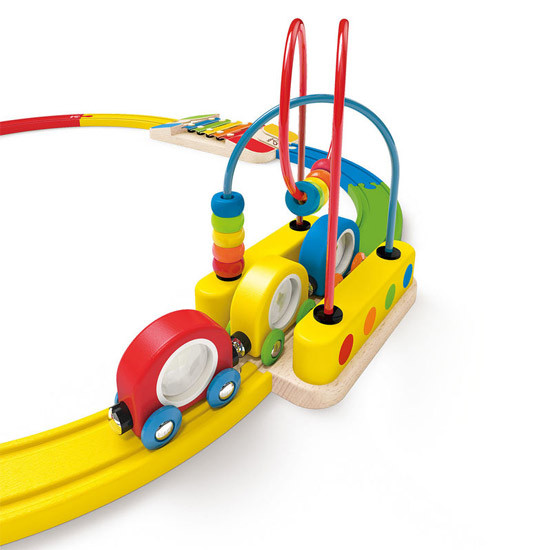 Hape Sight & Sounds Railway Set-2