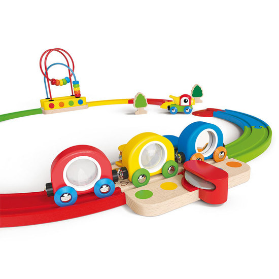 Hape Sight & Sounds Railway Set-4