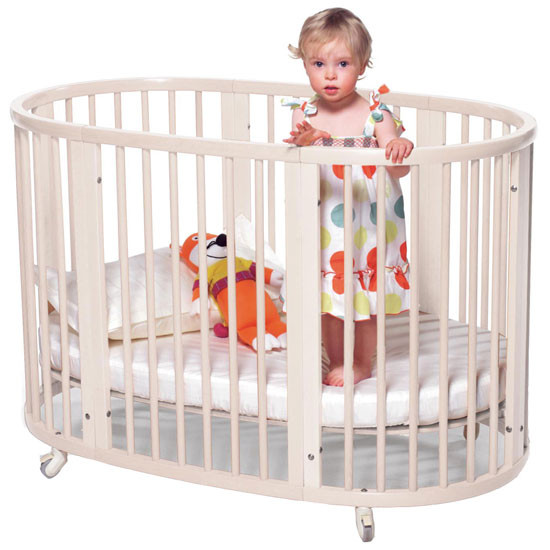 STOKKE Sleepi Crib and Mattress White-2