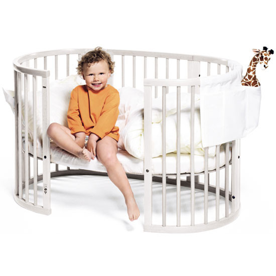 STOKKE Sleepi Crib and Mattress White-3