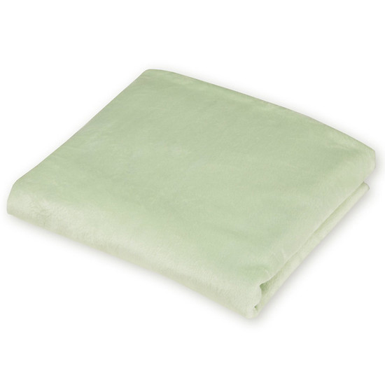 American Baby Company Heavenly Soft Chenille Contoured Changing Table Covers - Celery-2