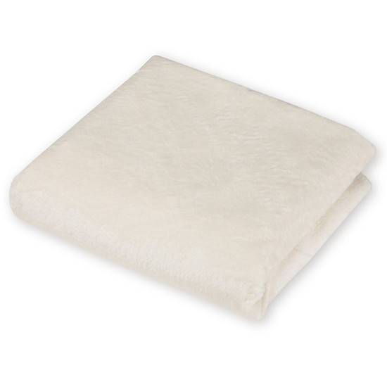 American Baby Company Heavenly Soft Chenille Contoured Changing Table Covers - Ecru-4