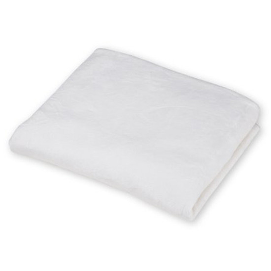 American Baby Company Heavenly Soft Chenille Contoured Changing Table Covers - Ecru-7