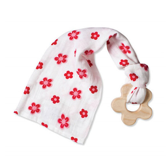 aden + anais Teething Toy - Princess Posie Flower