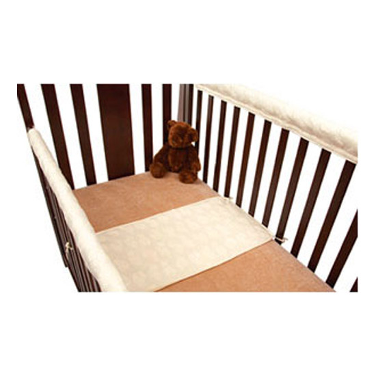 American Baby Company Crib Rail Guard - White