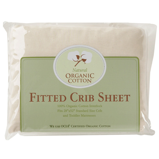 American Baby Company Organic Cotton Fitted Sheet - Cradle Size Product