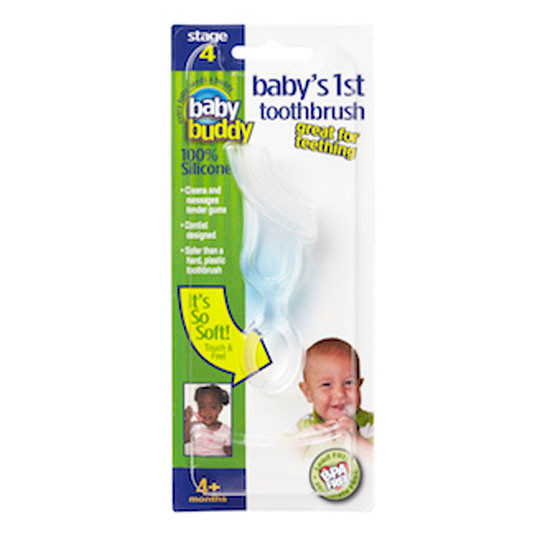 Baby Buddy Baby's 1st Toothbrush - Clear Product