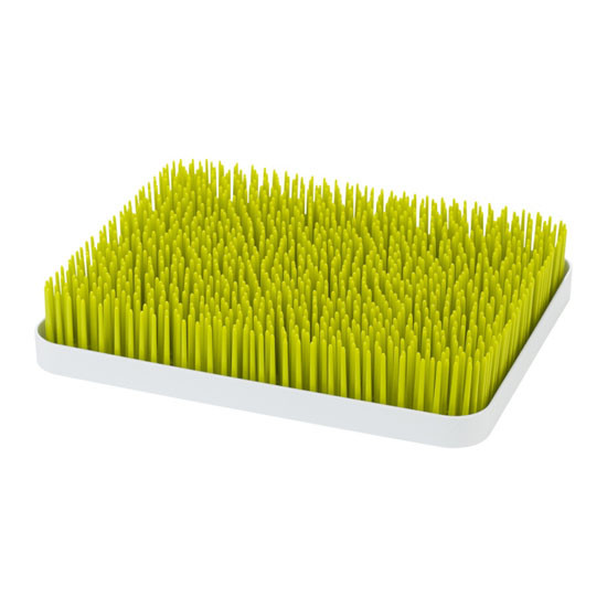 Boon Turf Countertop Drying Rack - Green + White Main