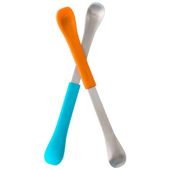 Boon Swap 2-in-1 Feeding Spoon - Blue/Orange