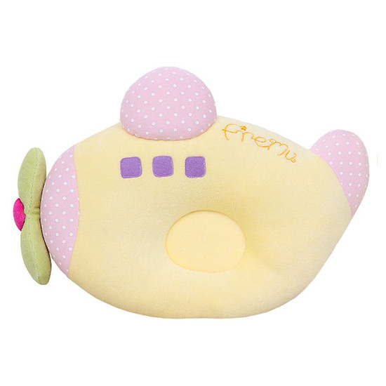 Bradcal Airplane Donut Pillow - Yellow