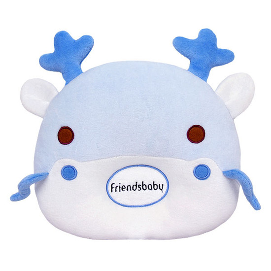 Bradcal Dragon Donut Pillow - Blue