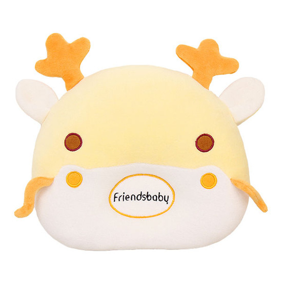 Bradcal Dragon Donut Pillow - Yellow