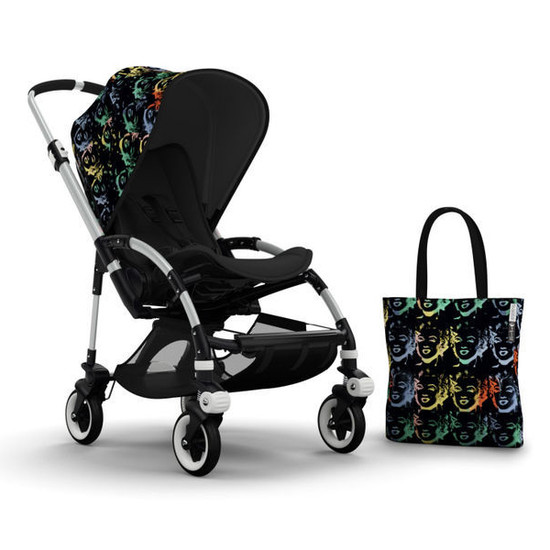 Bugaboo Bee3 Andy Warhol Accessory Pack - Marilyn/Black Product