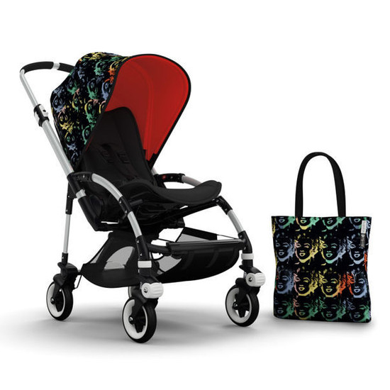 Bugaboo Bee3 Andy Warhol Accessory Pack - Marilyn/Orange Product