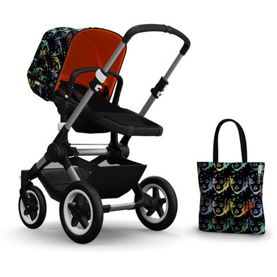 Bugaboo Buffalo Andy Warhol Accessory Pack - Marilyn/Orange Product