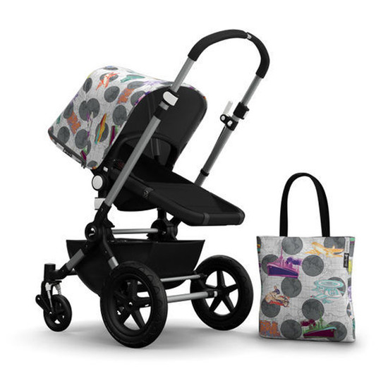 Bugaboo Cameleon3 Andy Warhol Accessory Pack - Globetrotter/Dark Grey Product