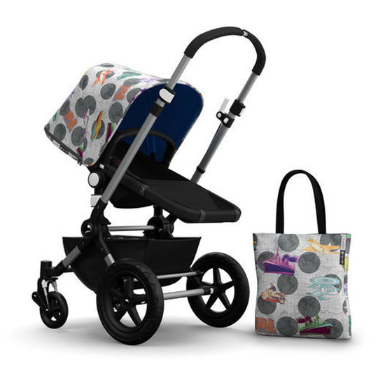 Bugaboo Cameleon3 Andy Warhol Accessory Pack - Globetrotter/Royal Blue