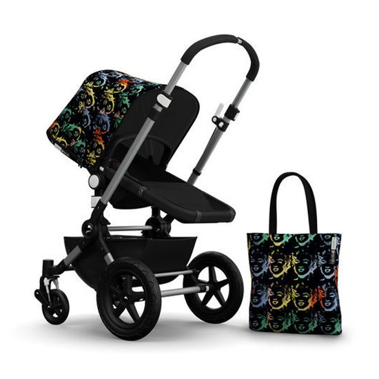 Bugaboo Cameleon3 Andy Warhol Accessory Pack - Marilyn/Black