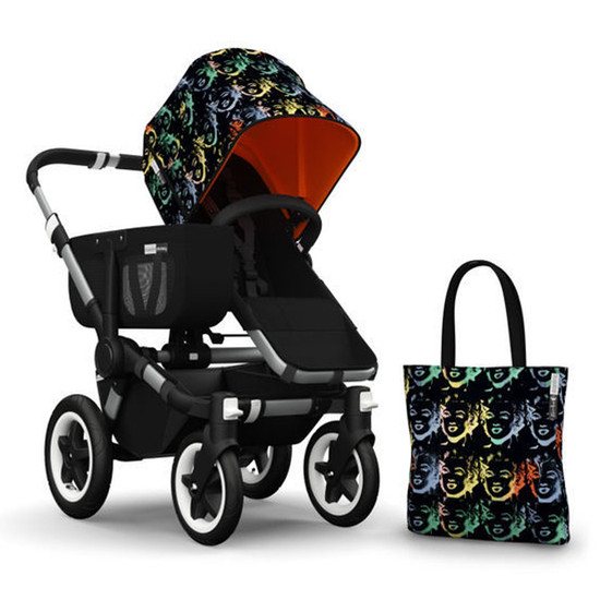 Bugaboo Donkey Andy Warhol Accesory Pack - Marilyn/Orange Product