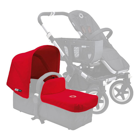 Bugaboo Donkey Non-Extendable Tailored Fabric Set - Red