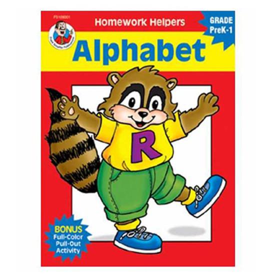 Carson Dellosa Homework Helper Alphabet Gr Pk1